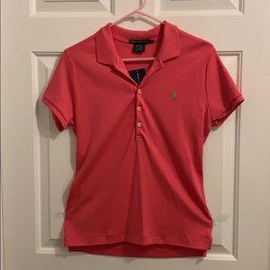 Ralph Lauren Sport NWT hot pink polo shirt